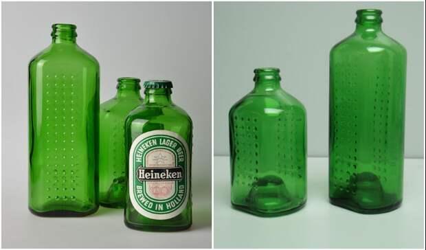 Бутылки-кирпичи создавались в двух размерах (World Bottle).