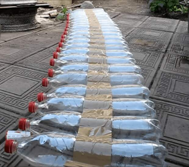 Теплые грядки из пластиковых бутылок — реальный шанс получить ранний урожай