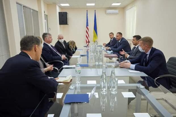 Зеленский встретился с замом госсекретаря США Стивеном Биганом