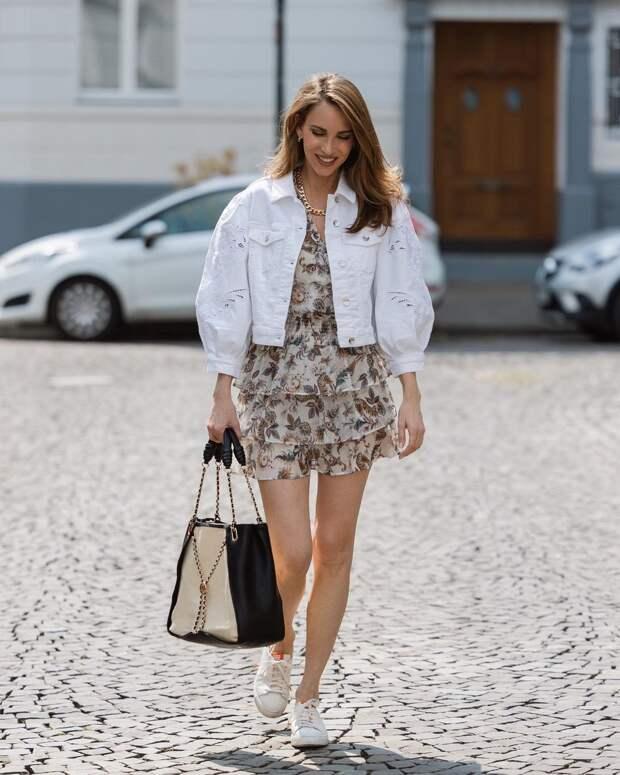Как стильно носить шифоновое платье: 13 воздушных и нежных идей