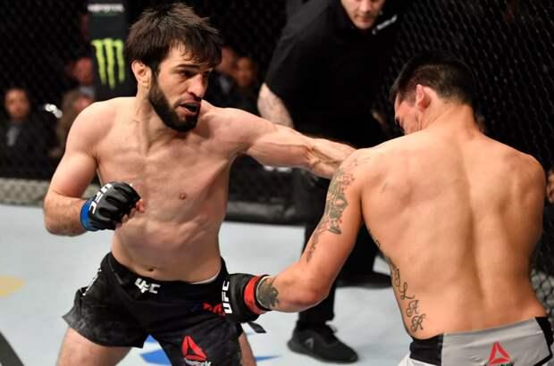 UFC подтвердила, что Тухугов подерется с Рамосом 14 марта