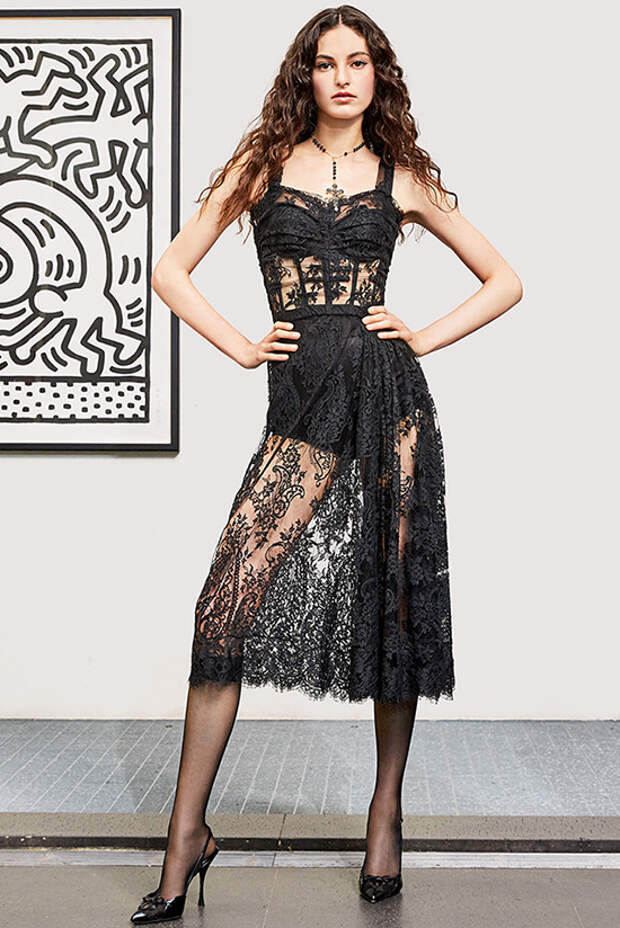 Модные кружевные платья – 2021: тенденции, советы и фото
