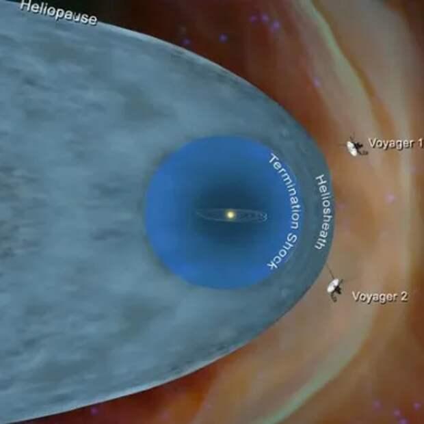 «Вояджеры» нашли плотный космос за пределами Солнечной системы