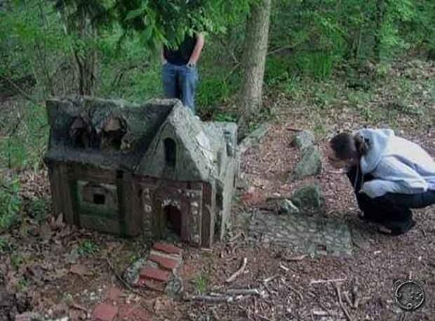 Деревня маленьких людей в Коннектикуте