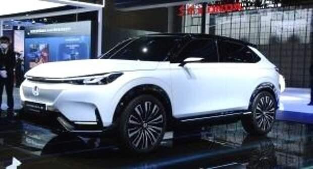 Honda представила серийный электрический внедорожник для Китая