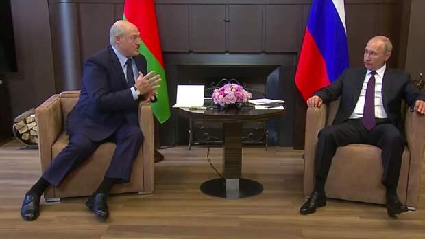 БелТА: Путин и Лукашенко проведут встречу