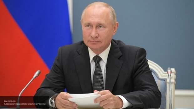 Владимир Путин направил поздравление работникам и ветеранам МВД