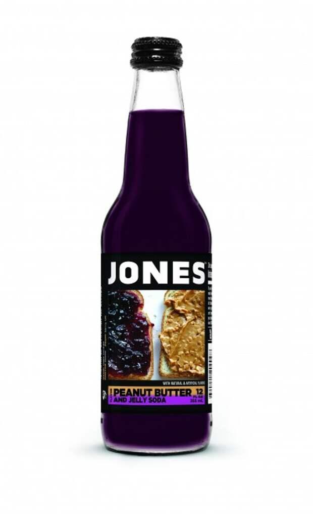 Peanut Butter and Jelly от Jones Soda еда, жесть, факты