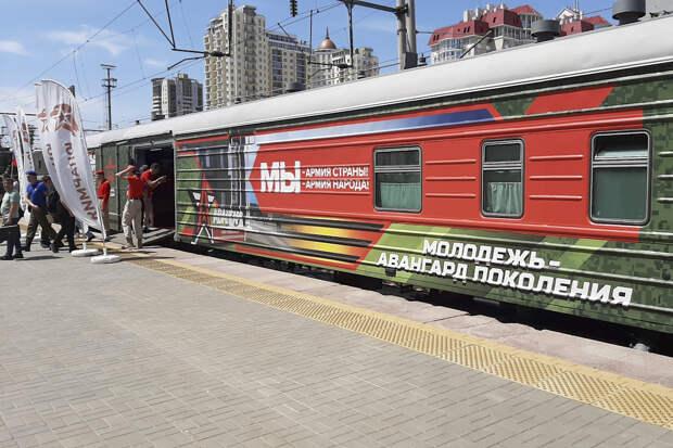 Юнармейцы Волгограда приняли участие во всероссийской акции «Мы – армия страны! Мы – армия народа!»
