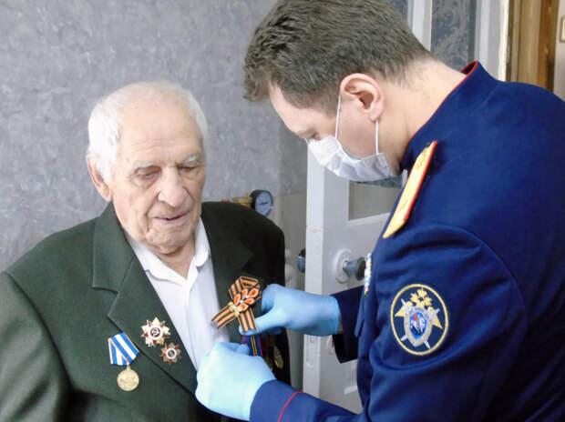 На Кубани вручили памятную медаль 100-летнему ветерану