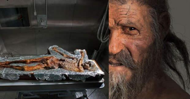 «Ледяной человек» — старейшая мумия, найденная в Европе