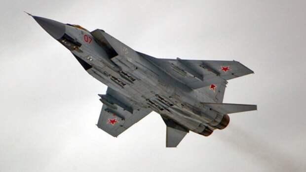 Российский МиГ-31 поднимался на перехват самолета-разведчика США