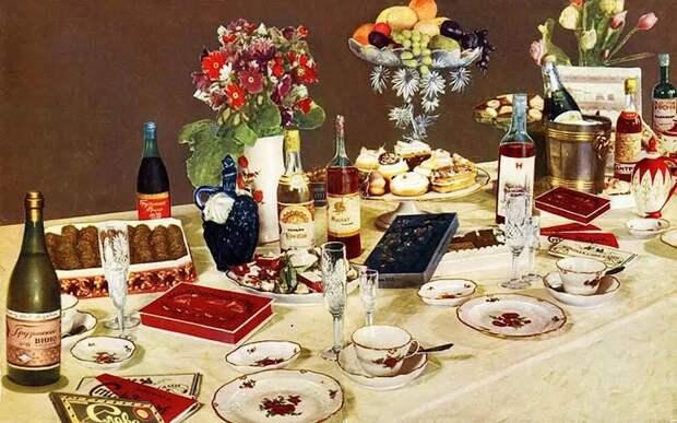 «Сакральный символ» советские блюда, считавшиеся признаком праздничного стола