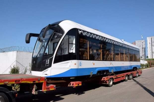 Трамваи нового поколения начнут ходить в районе Сокол на три месяца раньше срока