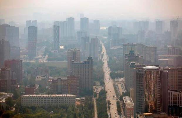 Екатеринбург оставили без электричества