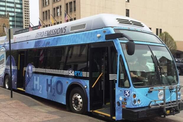 Первые автобусы на водородном топливе появятся в РФ в 2024 г