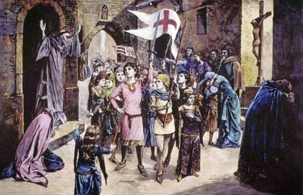 Проданные врабство ипогибшие вАльпах: чем закончился детский крестовый поход, самая ужасная авантюра Средневековья