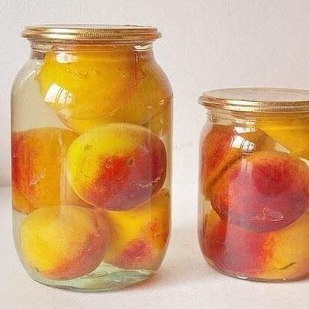 Консервированные персики – фантастический десерт