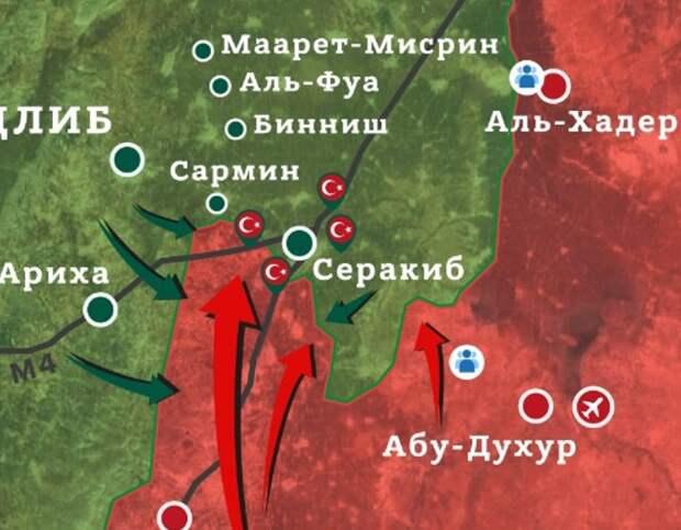 Сирия Идлибская зона