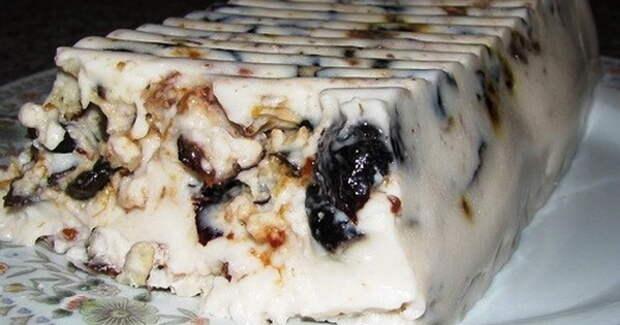Чернослив, сметана и грецкий орех - идеальный десерт
