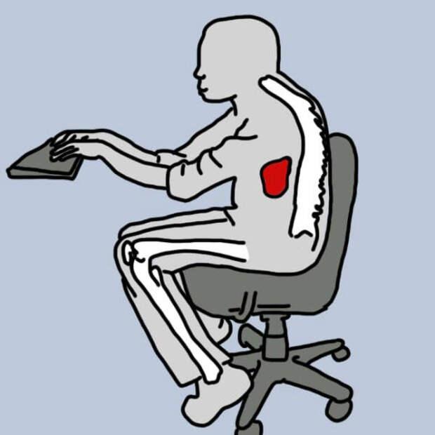 Сидячая работа. Как не потерять здоровье в офисе!