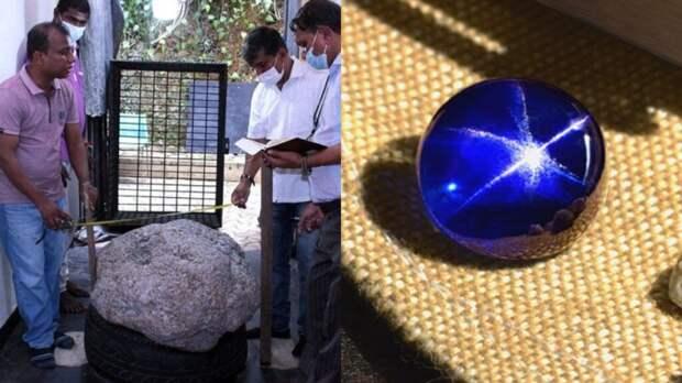 На Шри-Ланке случайно были найдены сапфиры весом в 510 кг