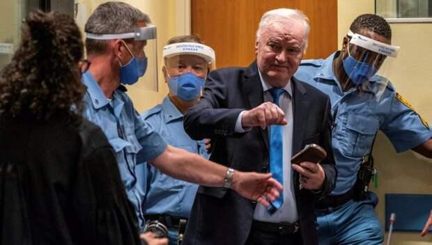 Младич будет сидеть до конца своих дней
