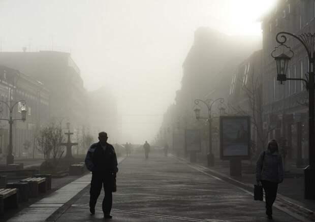 Загадочный ноябрьский холодный Петербург