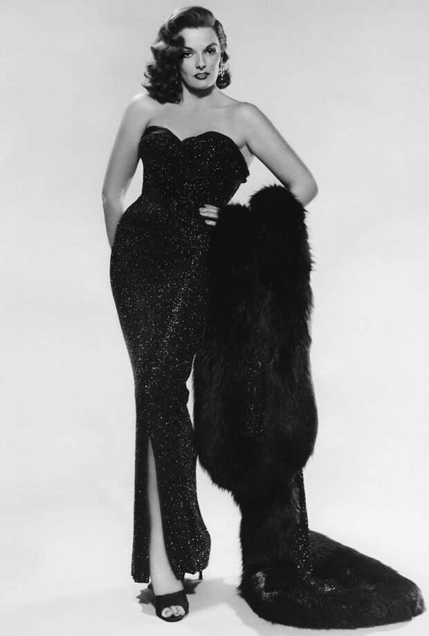 Секс-символ 40-х Джейн Расселл.