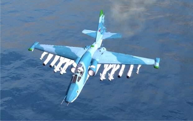 СУ-39 — универсальный штурмовик с возможностью ведения воздушного боя