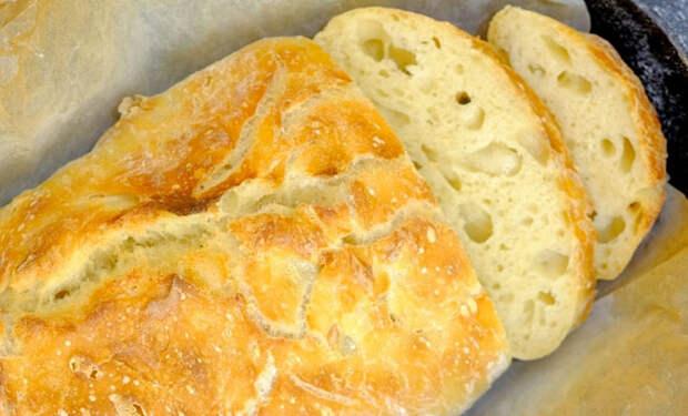 Хлеб без замеса для новичков: сразу получается хрустящая корочка и душистый мякиш