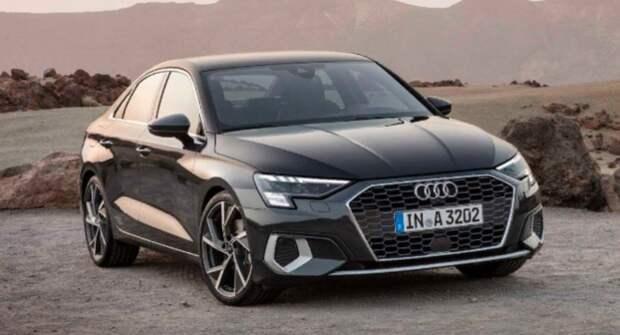 Озвучены цены на Audi A3 нового поколения для рынка России