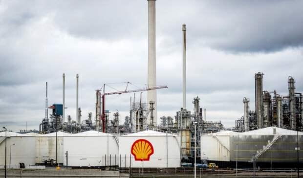 Чистый убыток Shell превысил $21,5 в2020 году