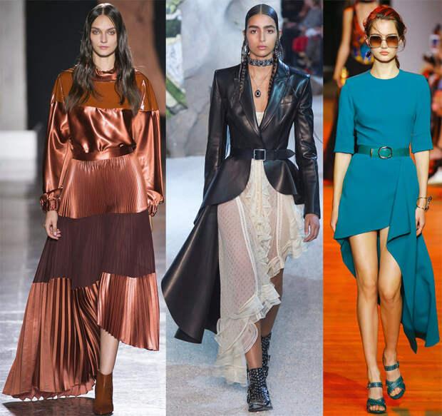 Ассиметрия в женской моде