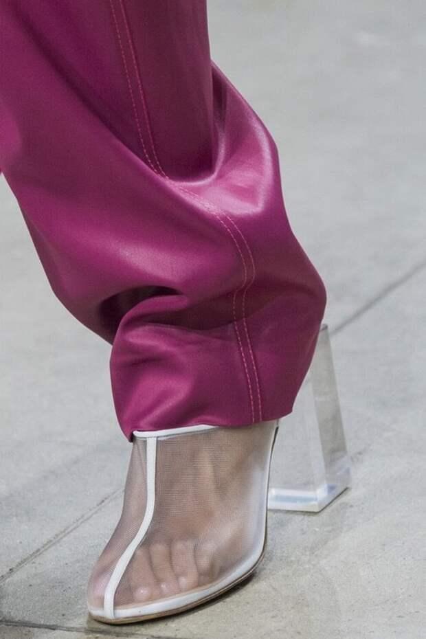 модные тенденции обуви весна 2018