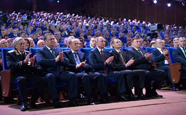 Президент Владимир Путин на Дне работников органов госбезопасности