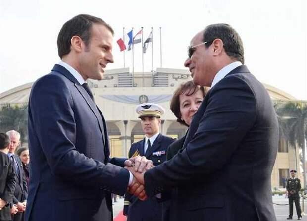 Президенты Египта иФранции обсудят конфликт Израиля иПалестины