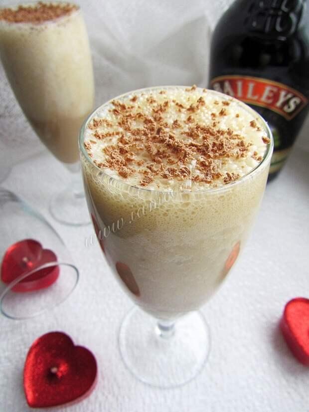 Молочныый коктейль с ликером
