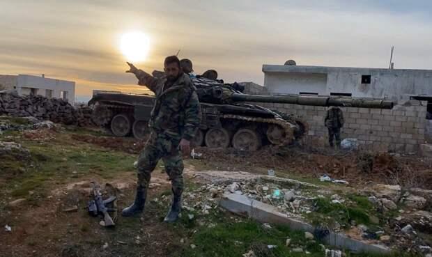 Идлиб завален трупами и сожжённой турецкой бронетехникой (ФОТО 18+)