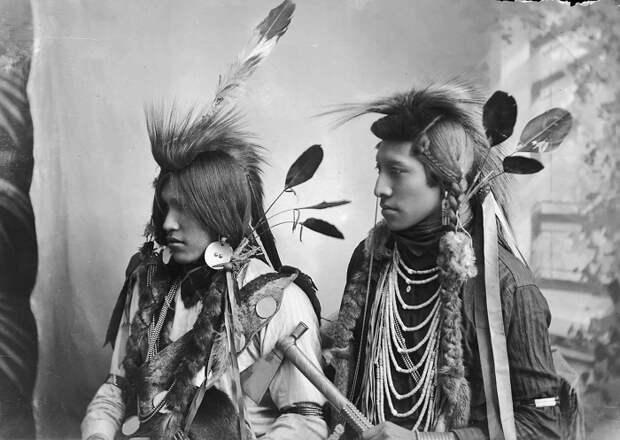 Какую одежду носили индейцы Северной Америки