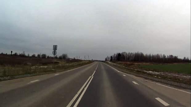 В Удмуртии завершили ремонт трассы до Кировской области