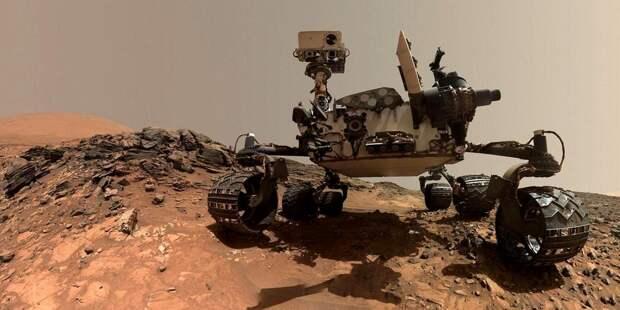 Марсоход Perseverance сделал фотографии дна древнего озера