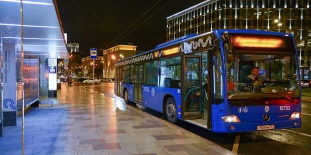 Три общественных транспорта в Бегом изменят маршрут из-за ночной подготовки к параду