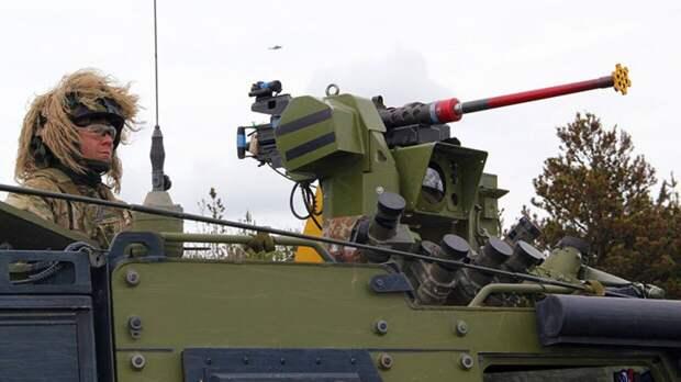 Американские военные использовали муляжи российских БМП на учениях в Калифорнии