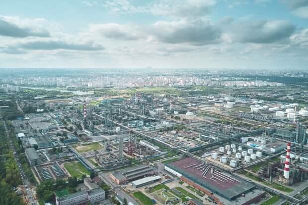 Московский НПЗ становится лучшим в Европе по экологическим параметрам