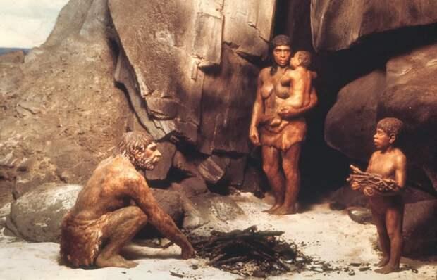 Полная семья эпохи неолита./ Фото: vofise.com