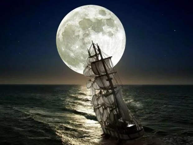 Чем может быть опасна холостая Луна, или Луна без курса?
