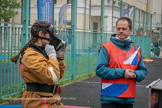 Школа №709 в Северном завоевала серебро на Московских городских соревнованиях по безопасности