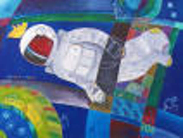 Туляки увидят «Русский космос» Валерия Воробьева