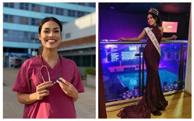 Красота спасет мир: самоотверженная «Мисс Англия» сняла корону, чтобы спасать больных коронавирусом